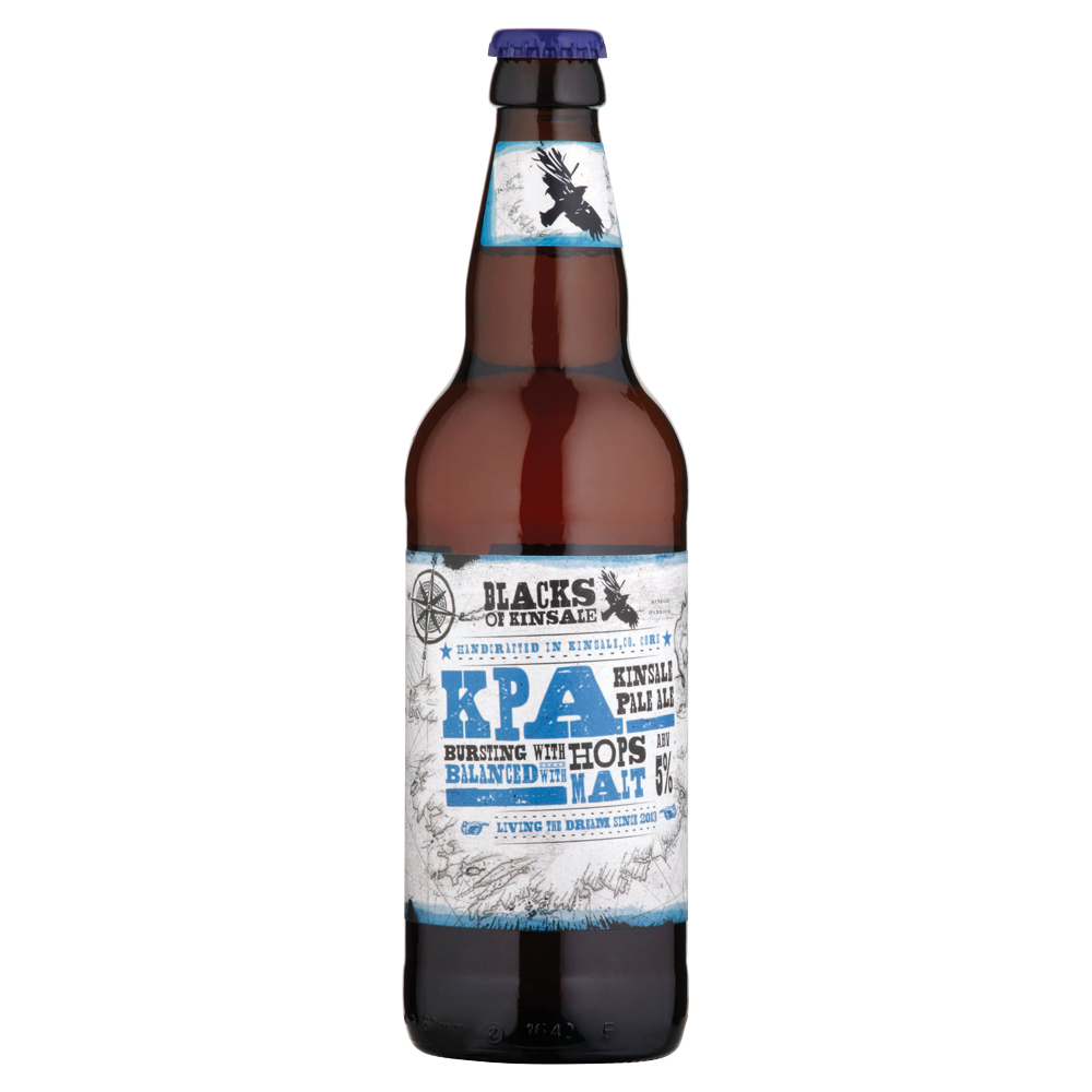 Blacks of Kinsale Pale Ale 500ml