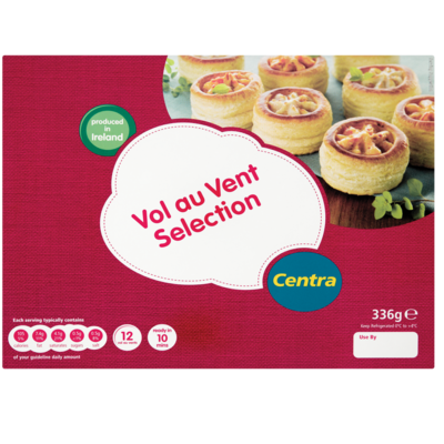 Centra Vol Au Vents Selection 336g