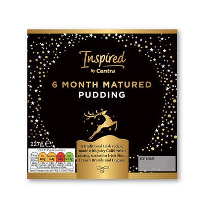 Inspired by Centra 6 Month Matured Pudding 227g