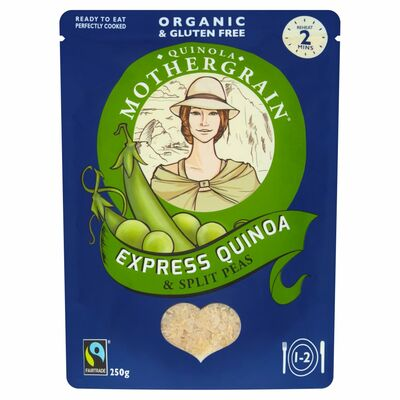 Quinola Organic Ready To Cook Split Peas 250g