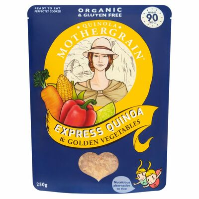 Quinola Express Quinoa & Golden Vegetables 250g
