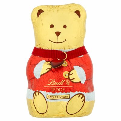 LINDT TEDDY RED & PINK JUMPERS 100G