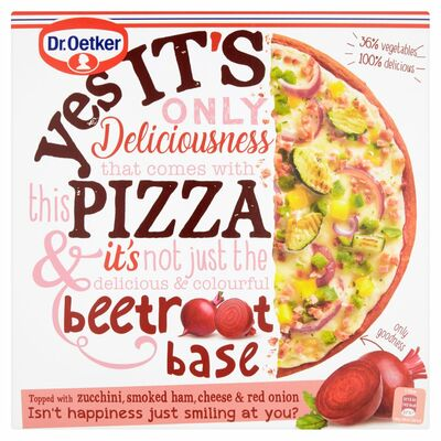 Dr. Oetker Yes It's Pizza Beetroot Base 335g