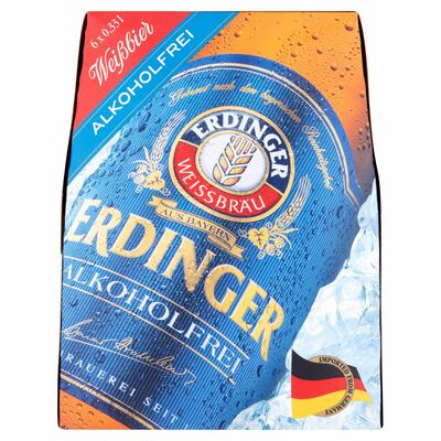 Erdinger Non-Alcoholic Bottle Pack 6 x 330ml