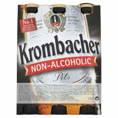 Krombacher Non Alcoholic Pils 6 Pack 330ml