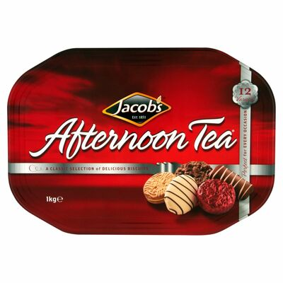 JACOB'S AFTERNOON TEA TIN 1KGM