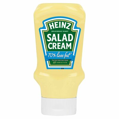 Heinz Salad Cream Extra Light Squeezy 435g