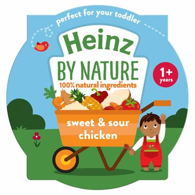 Heinz By Nature Sweet And Sour Chicken And Rice 230g