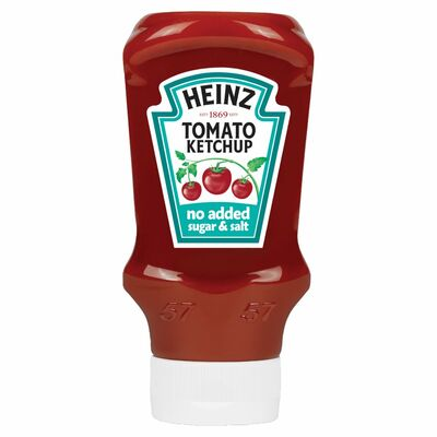 Heinz Tomato Ketchup No Added Sugar 425g