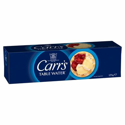 Carr's Table Water Biscuit 125g