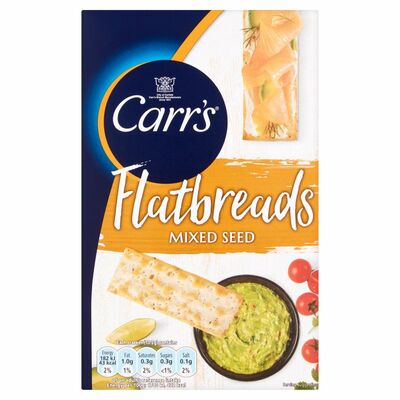 Carr's Lunchtime Mixed Seeds Flatbreads 150g