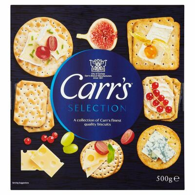 MCVITIE'S CARR'S SELECTION 500G