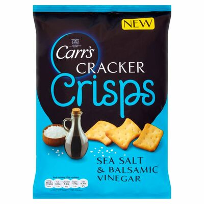 Carr's Cracker Crisps Salt & Vinegar 150g