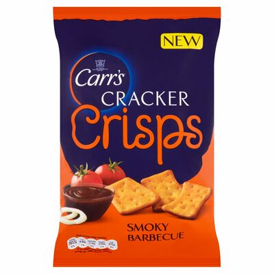 Carr's Cracker Crisps Smokey Bbq 150g