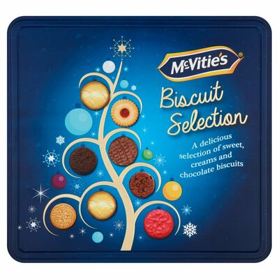 MCVITIE'S BISCUIT SELECTION TIN 400G