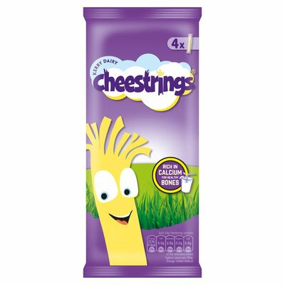 Cheesestrings Original 4 Pack 80g