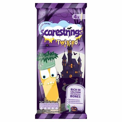 Cheestrings Twisted  4 Pack 80g