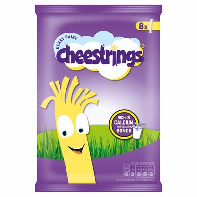 Cheesestrings Original 8 Pack 160g