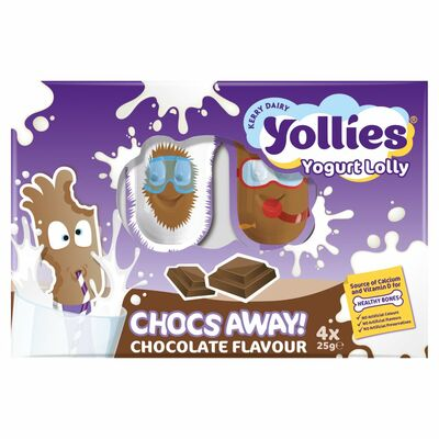 Yollies Limited Edition Dessert 4 Pack 100g