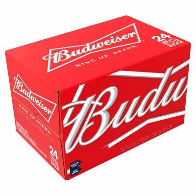 Budweiser Bottle Pack 20 x 300ml