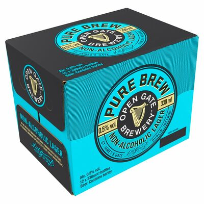OGB PURE BREW BOTTLE BOX 12 X  330ML