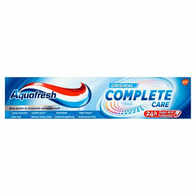 Aquafresh Complete Care Mouthwash 100ml