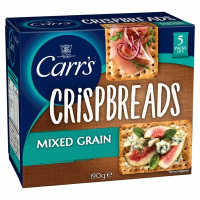 Carr's Lunchtime Crispbreads Mixed Grain 190g