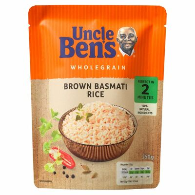 Uncle Ben's Express Rice Brown Basmati 250g