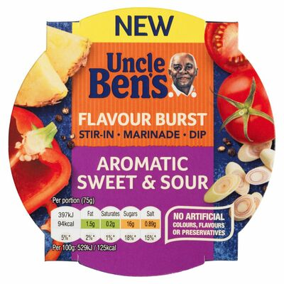 Uncle Ben's Sweet & Sour Flavour Burst 150g