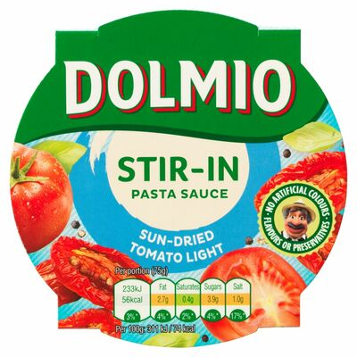 Dolmio Stir In Sun Dried Tomato Light Pasta Sauce 150g