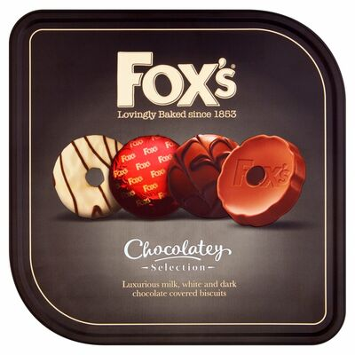FOX'S CHOCOLATELY TIN 365G