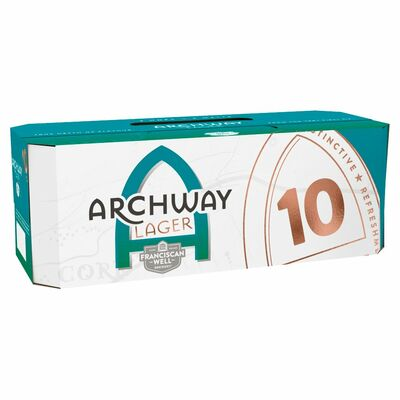 Franciscan Well Archway Lager Can Pack 10 x 330ml