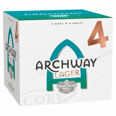 Franciscan Well Archway Lager 4 Pack 330ml