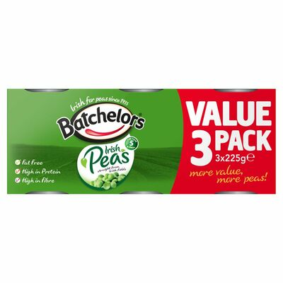 Batchelors Processed Peas 3 Pack 225g