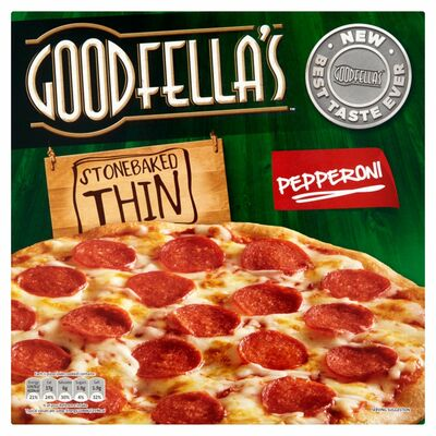 Goodfella's Thin Pepperoni Pizza 340g
