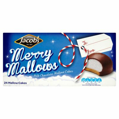 JACOB'S CHOCOLATE MALLOWS 400G