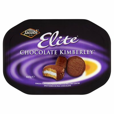 Jacob's Elite Chocoalte Kimberley Tin 660g