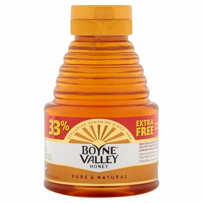 Boyne Valley Squeezy Honey + 33% Extra Free 454g