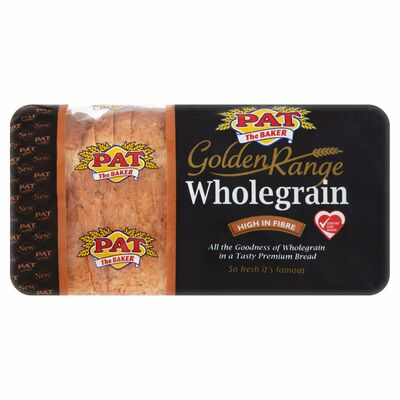 Pat The Baker Golden Range Wholegrain Pan 800g