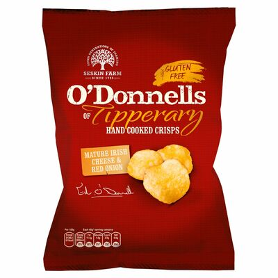 O'Donnells Tipperary Cheese & Onion 125g