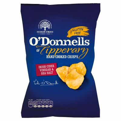O'Donnells Tipperary Salt & Vinegar 125g