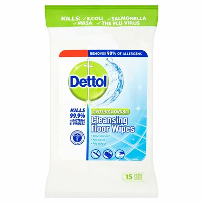 Dettol Antibacterial Surface Cleanser Floor 15pce
