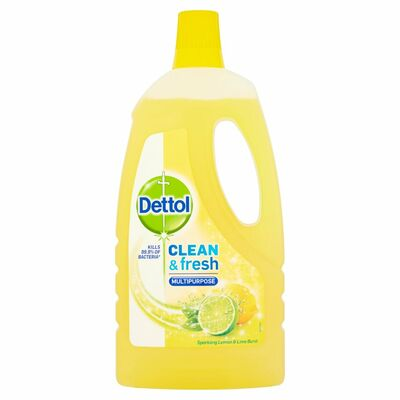 Dettol Power & Fresh Lemon & Lime 1ltr