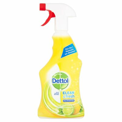 Dettol Power & Fresh Citrus Zest Trigger 500ml