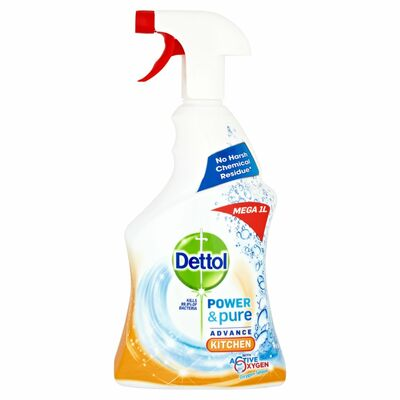 Dettol Power And Pure Kitchen Trigger 1ltr