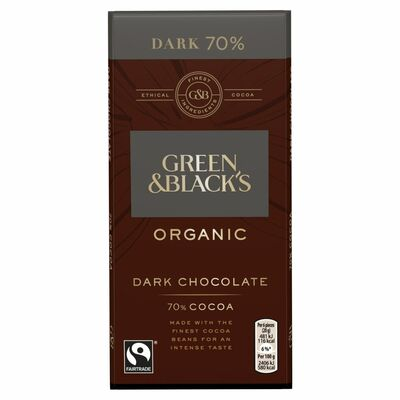 Green & Blacks Organic Dark Chocolate 100g