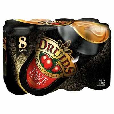 Druids Celtic Cider Can 8 Pack 500ml
