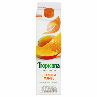 Tropicana Orange & Mango 850ml