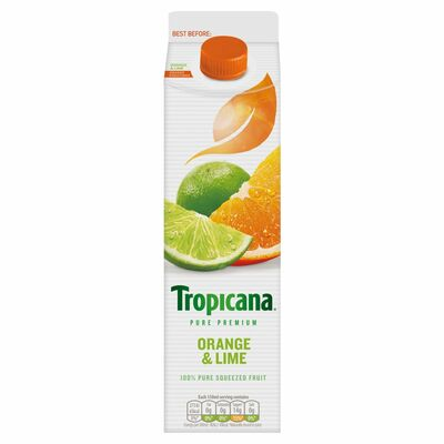 Tropicana Orange & Lime 850ml