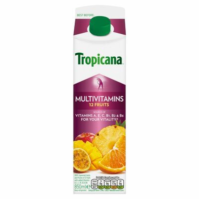 Tropicana Essentials Multivitamins 850ml